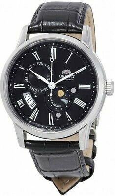 Orient Sun and Moon Version 3 Automatic Black Dial New Men's Watch FAK00004B0