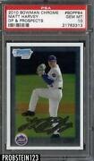 Matt Harvey Bowman Chrome