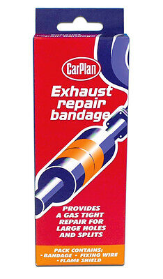 Carplan Universal Exhaust Box Pipe Repair Bandage Wrap Kit For Holes and Splits