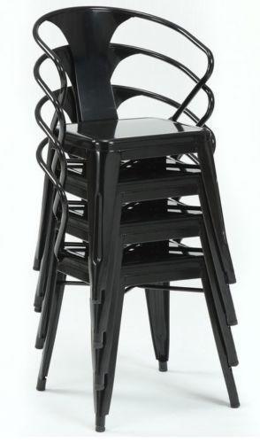 Metal Stacking Chairs Ebay