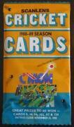 Scanlens Cricket Cards