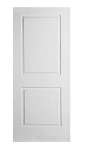 Internal 2 Panel Doors White Pre Finished