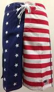 Mens American Flag Swim Trunks