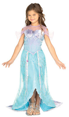 Deluxe Mermaid Princess Child Halloween Costume](Mermaid Halloween Costume Baby)