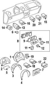Turn Signal Switch For 2005 Chevy Impala Mack Truck Turn