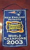 Patriots Superbowl Banner