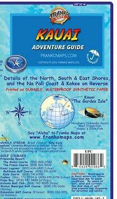 Kauai Hawaii Adventure Guide Map Waterproof by Franko Maps