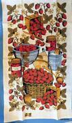 Strawberry Kitchen Towels