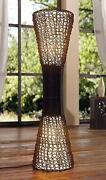Stehlampe Bambus