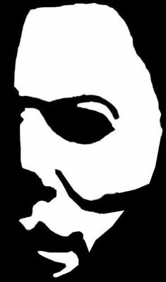 2x Michael Myers Halloween Horror Vinyl Decal Sticker Jason chucky freddy  (Home Decorations Halloween)