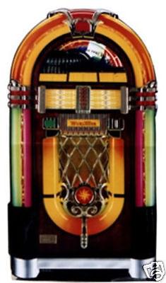 WURLITZER VINTAGE JUKEBOX LIFESIZE CARDBOARD STANDUP STANDEE CUTOUT POSTER PROP (Jukebox Prop)