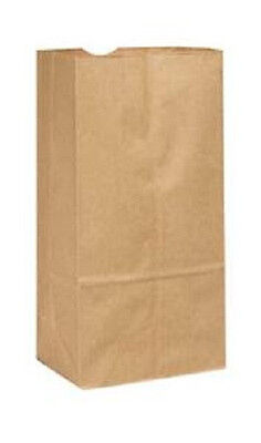 6lb Brown Duro Paper Grocery Bags Flat Bottom 500pkg 6 X 3-58 X 11-116