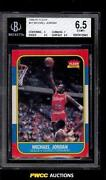 Michael Jordan Fleer Rookie BGS