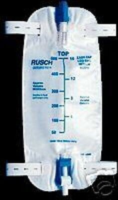 QUICK-TAP EASY DRAIN CATHETER LEG BAG Size Large 32oz 1000ML NICE ONES Easy Tap Leg Bag