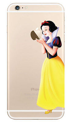 """Snow White Holding Apple Decal Sticker for iPhone 6 Plus (5.5"""")"""
