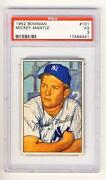 1952 Bowman #101 Mickey Mantle