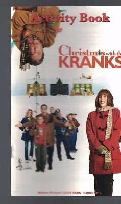 Christmas with the Kranks Activity Book 2004 Tim Allen Jamie Lee Curtis ()
