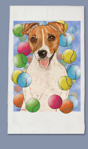 Jack Russell Dish Towel