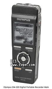 NEW -Enregistreur Portable Olympus DM-520 Digital Voice Recorder