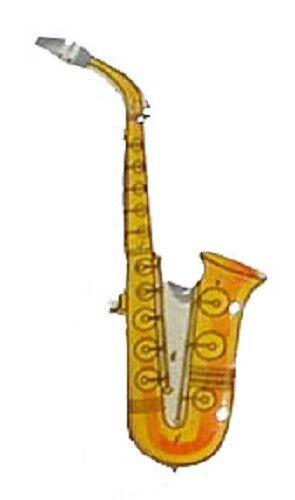 5 pcs. Saxophone LED Blinkies Party lights Body Lights Flashing Magnetic Pin