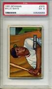 1951 Bowman #305 Willie Mays