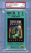 Super Bowl 38 Ticket