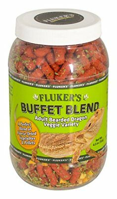 Flukers 1 Piece Adult Bearded Dragon Veggie Variety Diet 5 oz