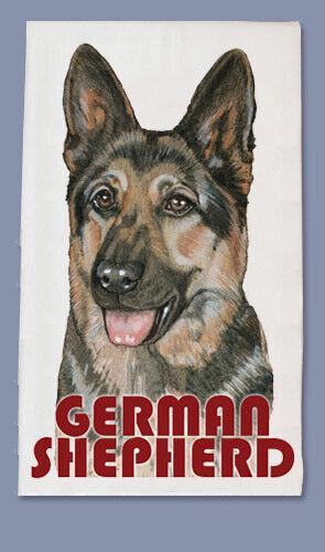 German Shepherd Dish Towel