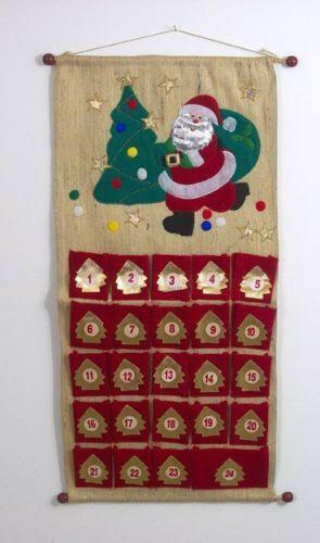 Fabric Advent Calendar Ebay
