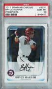 2011 Bowman Chrome Prospects Bryce Harper