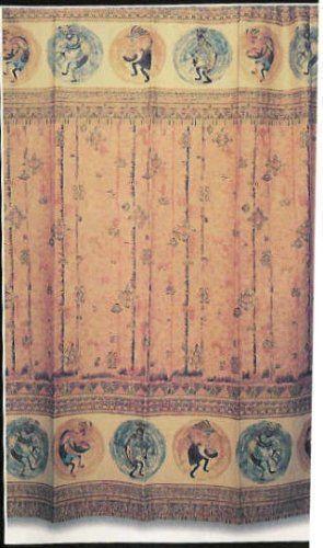 Kokopelli Shower Curtain Ebay