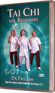 Tai-Chi-For-Beginners-Dr-Paul-Lam-Exercise-Fitness-Health-DVD-NEW-UNSEALED