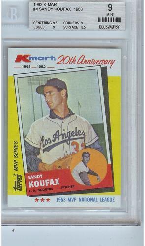 1982 Kmart Baseball Cards Ebay