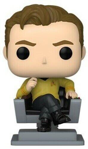 FUNKO POP! TELEVISION: Star Trek- Cap Kirk in Chair [New Toy] Vinyl Figure