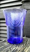 Blue Depression Glass Tumblers