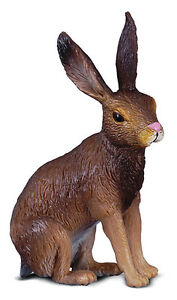 CollectA 88012 Brown Hare - Forest Animal Toy Rabbit Figurine Replica - NIP