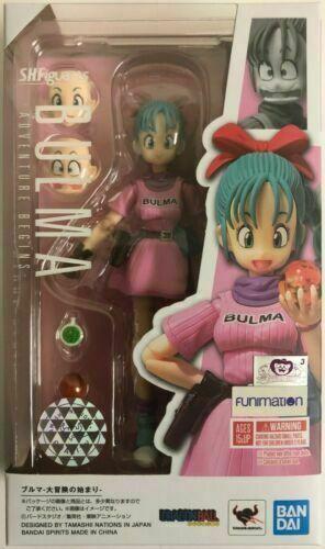 S.H.Figuarts Bulma Adventure Begins Dragon Ball Action Figure Bandai IN STOCK