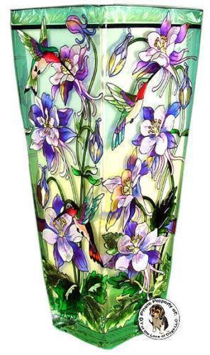 Hummingbird Vase Ebay
