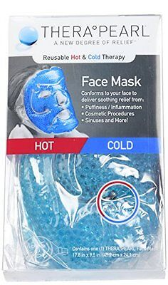 NEW THERA°PEARL hot cold Facemask FREE SHIPPING