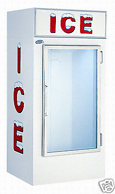Leer Model 30 Indoor Ice Merchandiser Auto Defrost