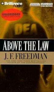 Above-the-Law-by-J-F-Freedman-2000-Audio-book-ON-TAPE-FREE-SHIPPING