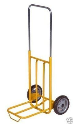 Folding Sack Truck 50Kg Compact Yellow Trolley Cart KM100 Q5VS#