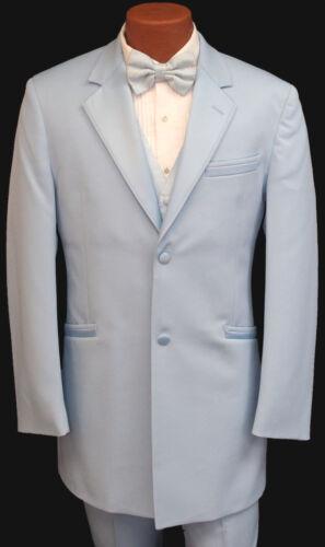 Retro Light Blue Tuxedo w/ Pants, Vest, Tie Vintage 1980
