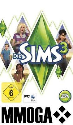 Die Sims 3 Hauptspiel Original Spiel - EA Origin PC DIGITAL DOWNLOAD CODE [NEU] (Sims 3 Downloads)