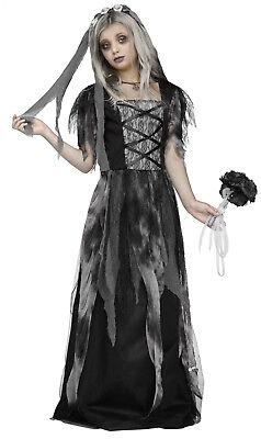 Child Ghost Cemetery Bride Costume ](Kids Bride Costume)