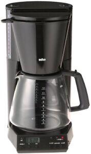 Braun Black KF187B FlavorSelect 12-Cup Coffeemaker