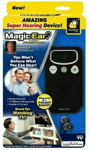 New Atomic Beam Magic Ear Hearing Aid Device Personal Sound