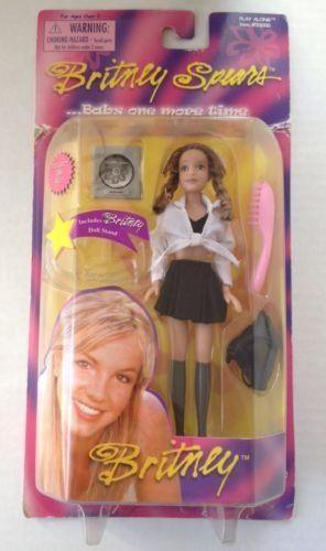 britney spears baby one more time doll ebay