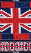 British Flag Fabric
