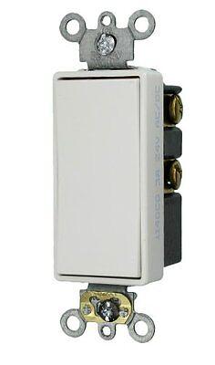 Leviton 56081-2W 3 Amp 24 Volt Decora Plus Rocker Double Throw Center Off NIB - Leviton Decora Plus Double Throw